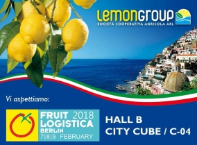 Lemongroup a Berlino per Fruit Logistica 2018